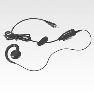 Image of Earpiece with in-line push-to-talk HKLN4602