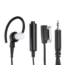 Image of 3-Wire Surveillance Kit with Extra Loud Earpiece (black) BDN6732A