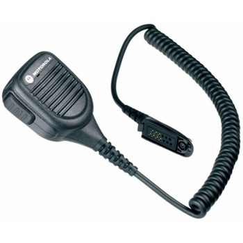 Image of Noise Cancelling Remote Speaker Microphone - WARIS PMMN4039