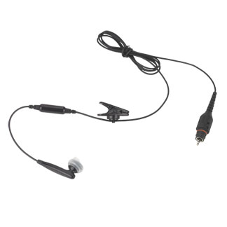 Image of 1-Wire Earbud, 116cm, Black NNTN8295