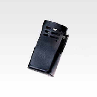 Image of Leather Carry Case with swivel belt clip (non-display) HLN9676